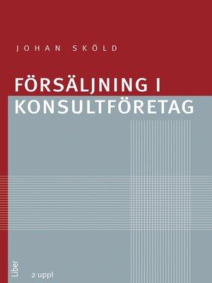 cover image of Försäljning i konsultföretag
