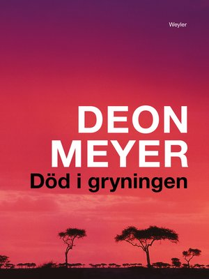 cover image of Död i gryningen