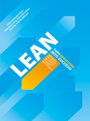 cover image of Lean--Turn Deviations into Success!