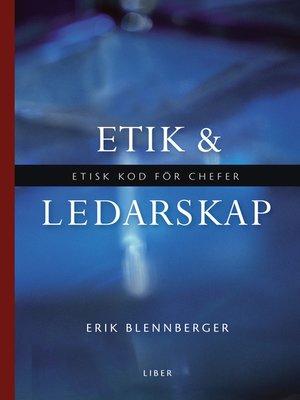 cover image of Etik och ledarskap