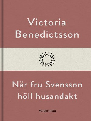 cover image of När fru Svensson höll husandakt