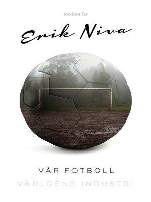 cover image of Vår fotboll