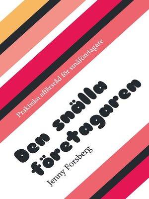 cover image of Den snälla företagaren