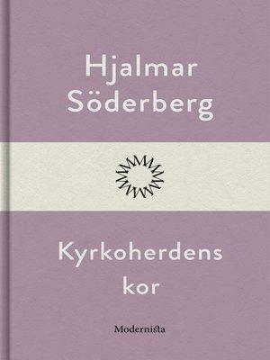cover image of Kyrkoherdens kor