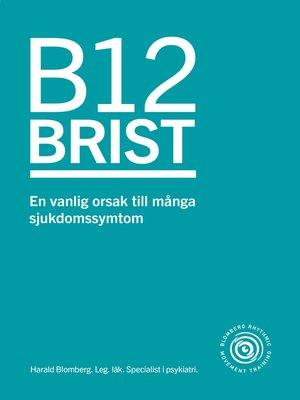 cover image of B12 brist