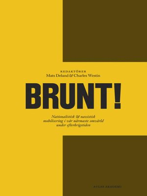 cover image of Brunt!