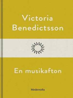 cover image of En musikafton