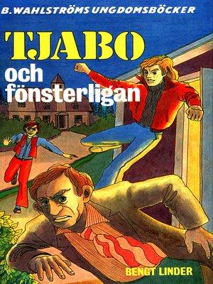 cover image of Tjabo 1--Tjabo och fönsterligan