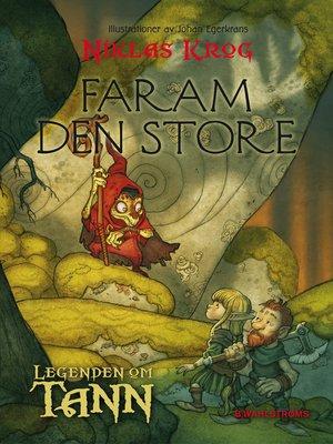 cover image of Legenden om Tann 8--Faram den store