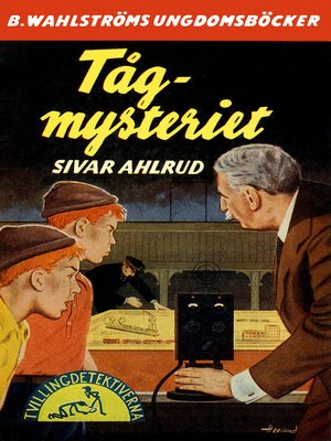 cover image of Tvillingdetektiverna 17--Tåg-mysteriet