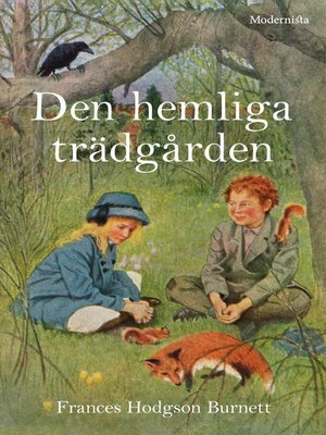 cover image of Den hemliga trädgården