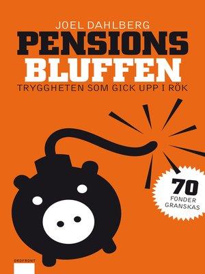 cover image of Pensionsbluffen