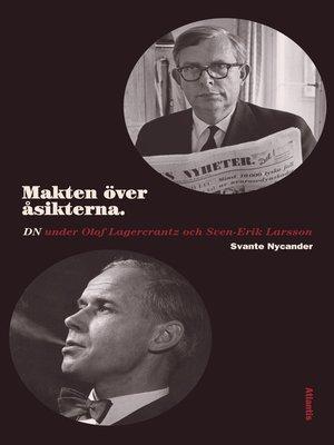 cover image of Makten över åsikterna
