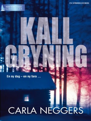 cover image of Kall gryning