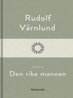 cover image of Den rike mannen