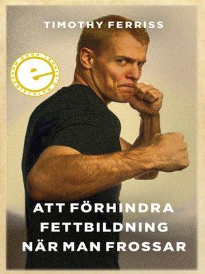 cover image of Att förhindra fettbildning när man frosssar