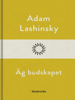 cover image of Äg budskapet