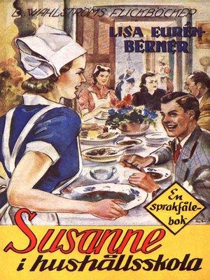 cover image of Fröken Sprakfåle 15--Susanne i hushållsskola