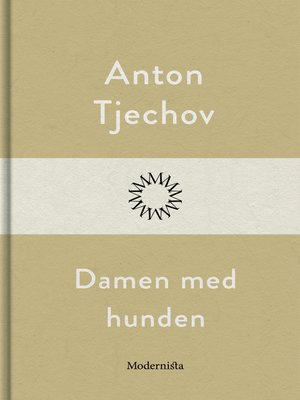 cover image of Damen med hunden