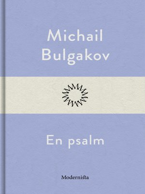 cover image of En psalm