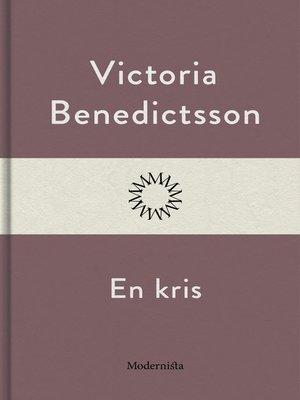 cover image of En kris