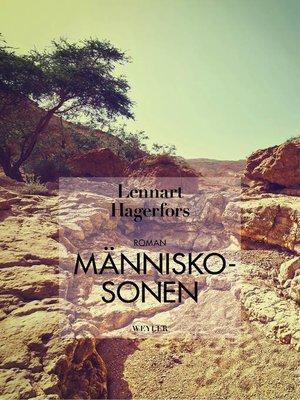 cover image of Människosonen