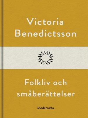 cover image of Folkliv och småberättelser