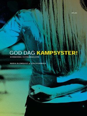 cover image of God dag kampsyster