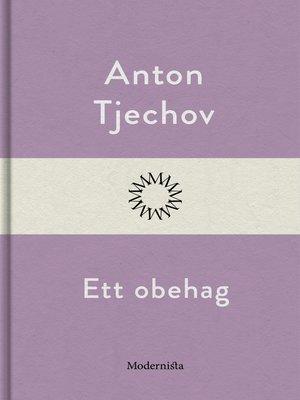 cover image of Ett obehag