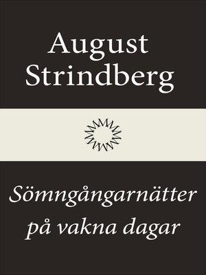 cover image of Sömngångarnätter på vakna dagar