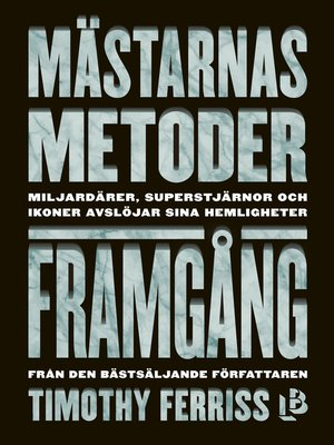 cover image of Mästarnas metoder