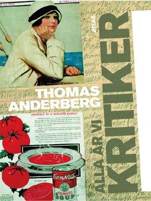 cover image of Alla är vi kritiker