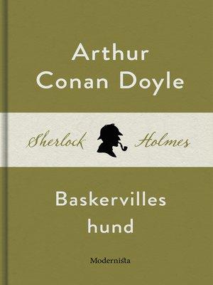 cover image of Baskervilles hund (En Sherlock Holmes-roman)