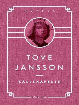 cover image of Sällskapslek