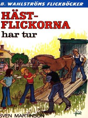 cover image of Hästflickorna 2--Hästflickorna har tur