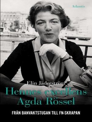 cover image of Hennes excellens Agda Rössel