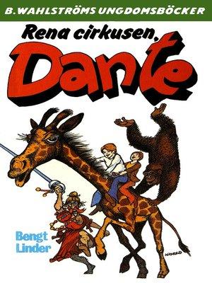 cover image of Dante 20--Rena cirkusen, Dante