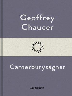 cover image of Canterburysägner
