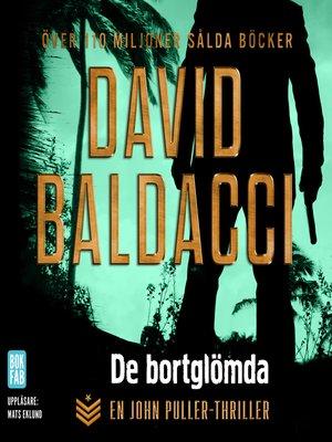 cover image of De bortglömda