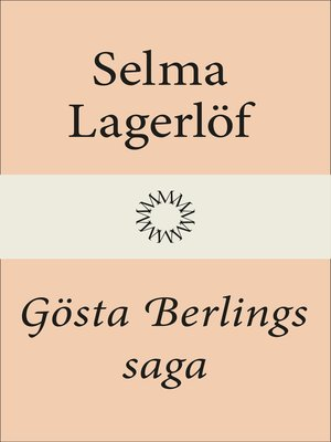 cover image of Gösta Berlings saga