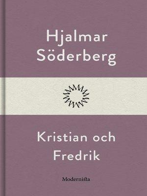 cover image of Kristian och Fredrik