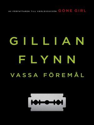 cover image of Vassa föremål