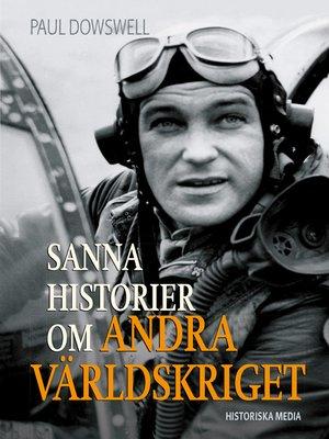 cover image of Sanna historier om andra världskriget