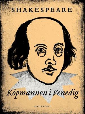 cover image of Köpmannen i Venedig