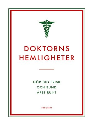cover image of Doktorns hemligheter