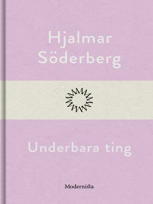 cover image of Underbara ting