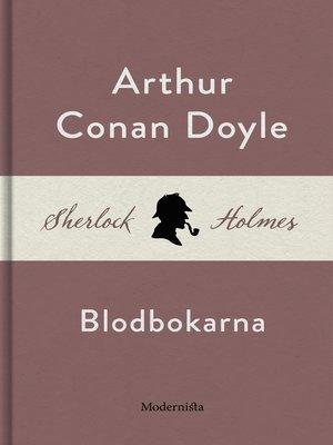 cover image of Blodbokarna (En Sherlock Holmes-novell)
