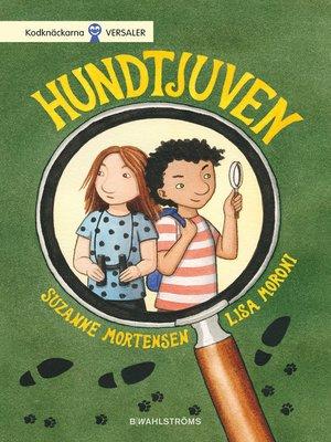 cover image of Detektiverna 1--Hundtjuven