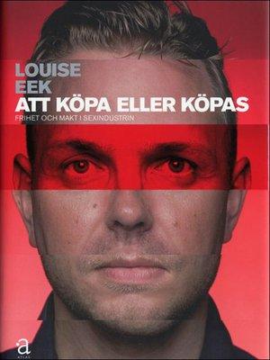 cover image of Att köpa eller köpas
