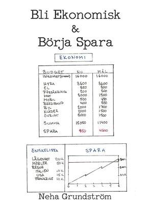 cover image of Bli Ekonomisk & Börja Spara